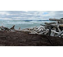Pic Island - Lake Superior- Marathon Ontario Canada Photographic Print