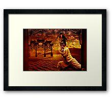 """Wushu series """"Desert Sand"""" Framed Print"""