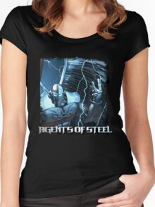 Agents Of Steel 2 Women's Fitted Scoop T-Shirt