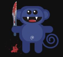 MUNKEY 2 (Cute pet with a sharp knife!) by peter chebatte