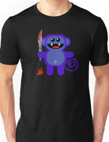 MUNKEY 2 (Cute pet with a sharp knife!) Unisex T-Shirt