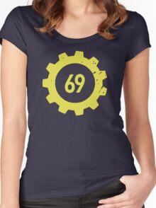 Vault 69 Women's Fitted Scoop T-Shirt