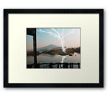 "Wushu series ""Power"" Framed Print"