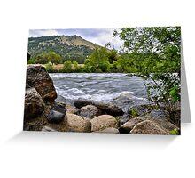 American River at Coloma, CA Greeting Card