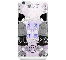 S a d G i r l s iPhone Case/Skin