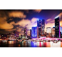 Sydney - festival of light ( Vivid festival )  Photographic Print