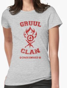 MTG - GRUUL CLAN Womens Fitted T-Shirt