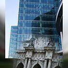 the edge of my eye on london II by fuatnoor