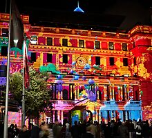 Vivid Sydney - Annual light show in Darling Harbor - Intel promo light show by kaledyson