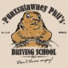 Punxsutawney Phil&#x27;s Driving School by Vincent Carrozza