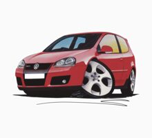 VW Golf GTi (Mk5) Red by Richard Yeomans