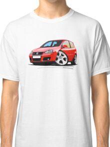 VW Golf GTi (Mk5) Red Classic T-Shirt