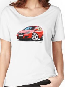VW Golf GTi (Mk5) Red Women's Relaxed Fit T-Shirt