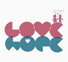love, hope. by Mindy Nguyen
