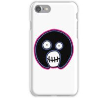 The Mighty Boosh –  Blue & Pink Mask iPhone Case/Skin