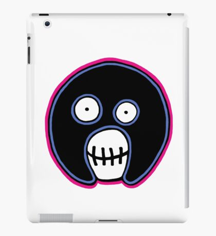 The Mighty Boosh –  Blue & Pink Mask iPad Case/Skin