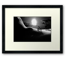 "Bodylandscapes series ""Pomme d'Adam 3/3"" Framed Print"