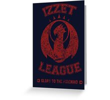 Magic the Gathering: IZZET LEAGUE Greeting Card