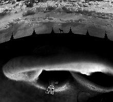"""Bodylandscape series """"L'oreil 1/3"""" by Lazius Kaye"""
