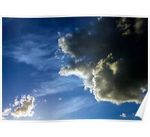 May Storm Clouds Poster