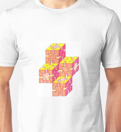 Sun blocks Oblique ersion Unisex T-Shirt