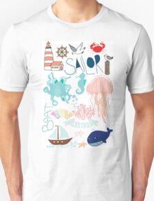 Nautical Doodles T-Shirt