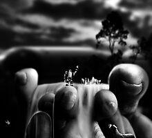 "Bodylandscape series ""Les orteils 2/3"" by Lazius Kaye"