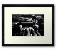 """Bodylandscape series """"Les orteils 2/3"""" Framed Print"""