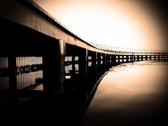 Under the Board Walk by Andrew (ark photograhy art)