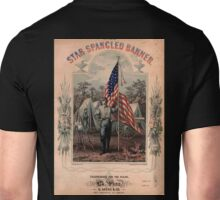 American Civil War, Poster, Star Spangled Banner, America, American, USA, United States Unisex T-Shirt