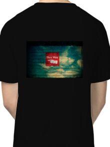 follow the finger - tee Classic T-Shirt