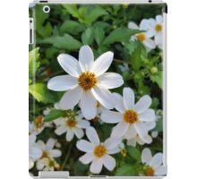 shining white petals iPad Case/Skin