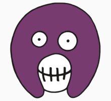 The Mighty Boosh – Purple Mask Kids Tee