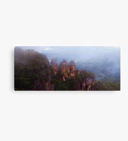 The Misty Sisters Canvas Print