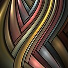 Metallic Rainbow by Jaclyn Hughes