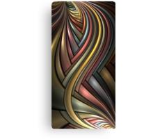 Metallic Rainbow Canvas Print