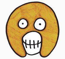 The Mighty Boosh – Dirty Yellow Mask Kids Tee