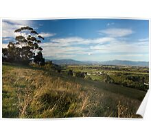 Views from Mt Lofty 4 Poster