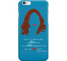 One Chair iPhone Case/Skin