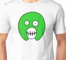 The Mighty Boosh – Solid Green Mask Unisex T-Shirt
