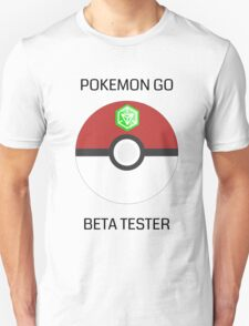 Ingress - Pokemon GO beta tester - V4 T-Shirt