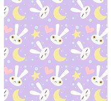 Moon Rabbit by Kelsey Cretcher