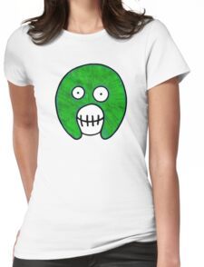 The Mighty Boosh – Dirty Green Mask Womens Fitted T-Shirt