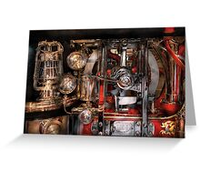 Steampunk - Check the gauges  Greeting Card