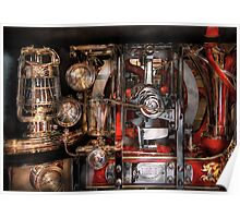 Steampunk - Check the gauges  Poster