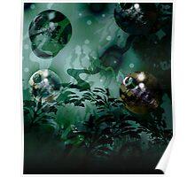 Metallic Spheres 2 Poster