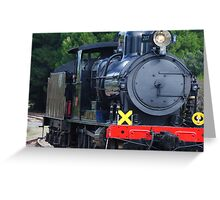 The old steam range  Greeting Card