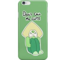 Peridot - Don't Call Me CUTE iPhone Case/Skin