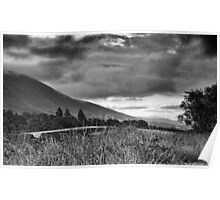 Turbulent Sky over Cumbria Poster