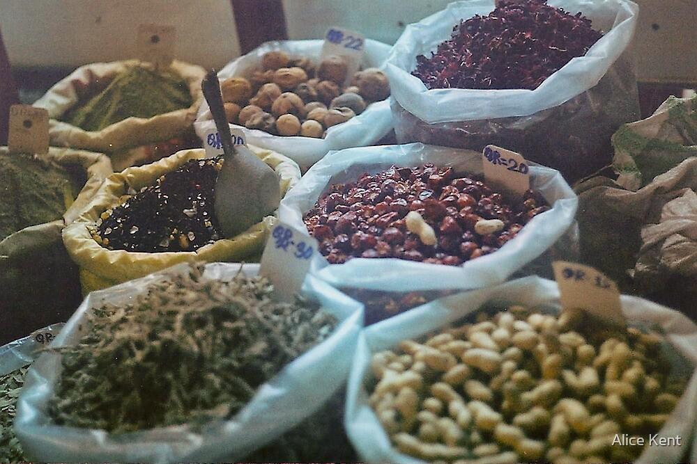 Spice souk by Alice Kent